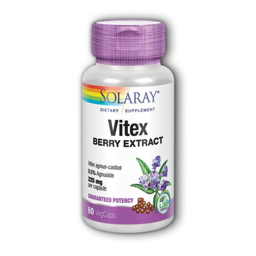 Vitex Berry Extract 60 Caps by Solaray