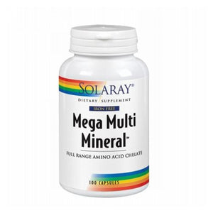 Mega Multi Mineral 100 Caps by Solaray