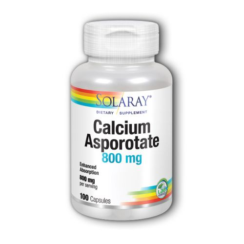 Calcium Asporotate 100 Caps by Solaray