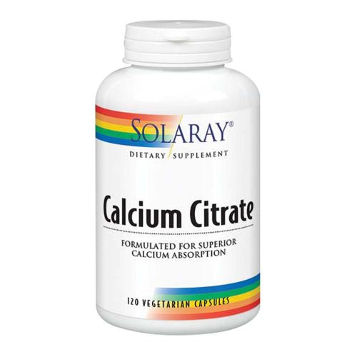 Calcium Citrate 240 Caps by Solaray