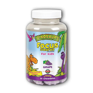 Focus Saurus Grape 30 Chews by Kal