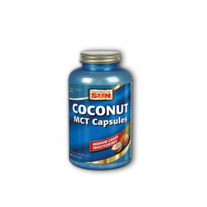 Coconut MCT Capsules 180 Caps by Health From The Sun