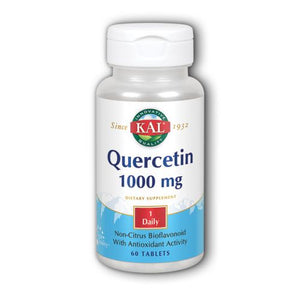 Quercetin 60 Tabs by Kal