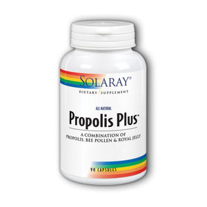 Propolis Plus 90 Caps by Solaray