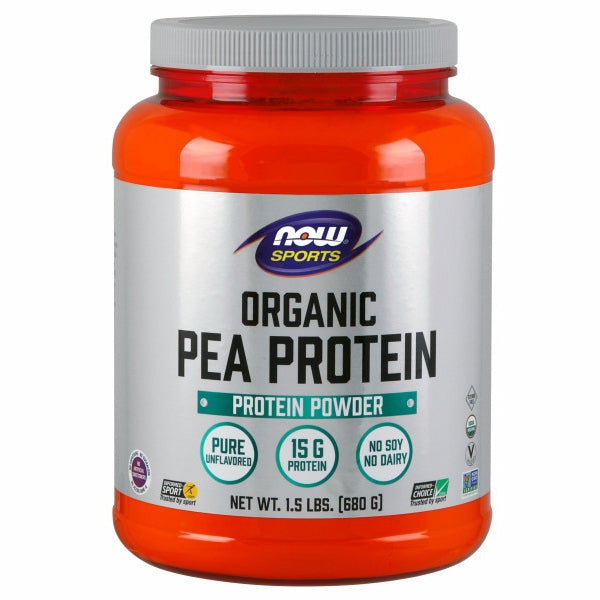 Organic Pea Protein 1.5 lbs by Now Foods Peas are well known for being a source of highly bioavailable protein. Additionally, peas are not considered one of the major dietary allergens. Collectively, this makes pea protein an ideal source of post-workout nutrition for athletes who may have difficulty supplementing with other types of protein.