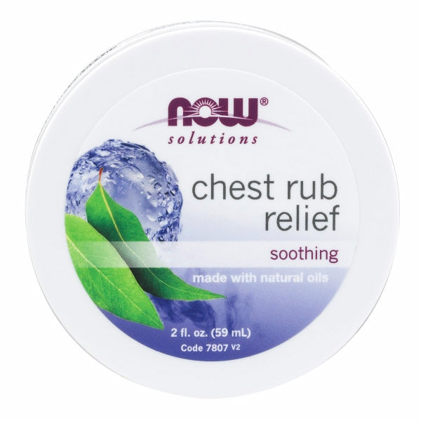 Chest Rub Relief 2 fl oz by Now Foods