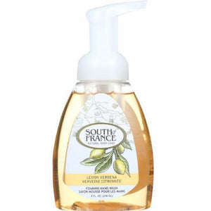Foaming Hand Wash Lemon Verbana 8 oz by South Of France Soaps