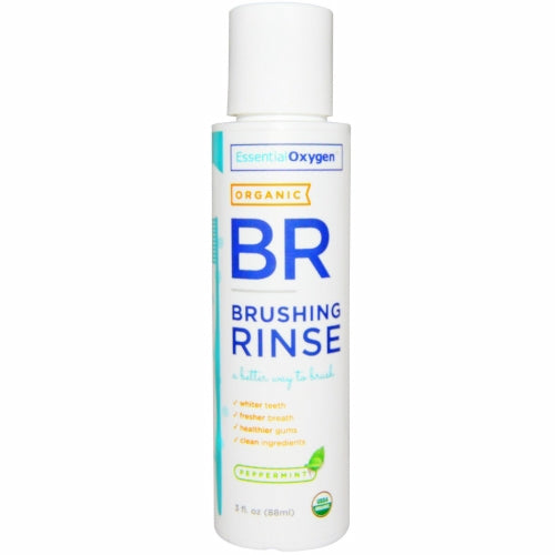 Brushing Rinse Peppermint 3 oz by Essential Oxygen