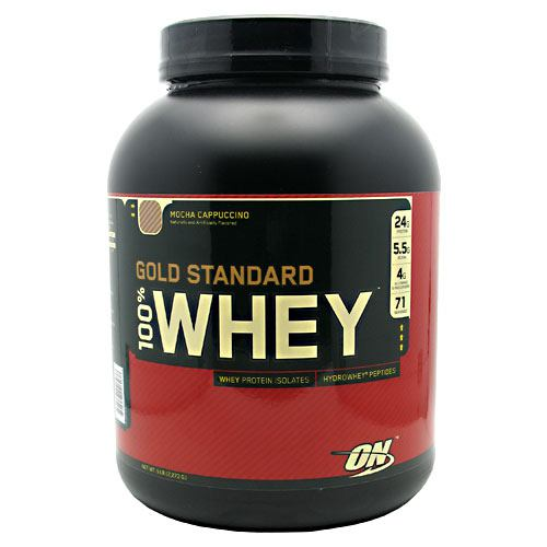 Gold Standard 100% Whey Mocha Cappucino 5 lbs by Optimum Nutrition