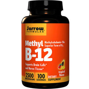 Methyl B-12 - Tropical 100 Lozenges