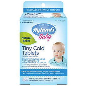 Baby Nighttime Tiny Cold - 125 Tabs