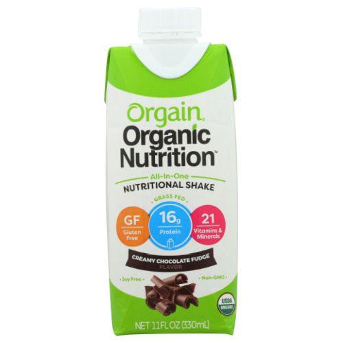 Shake Chocolate Fudge 11OZ(case of 12) by Orgain