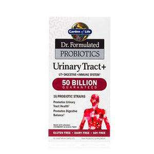 Dr. Formulated PROBIOTICS Urinary Tract+ 60 Capsules by Garden of Life