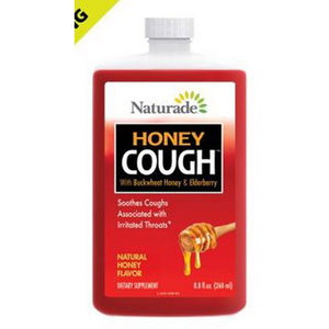 Cough Syrup - Natural Honey 8.8 oz