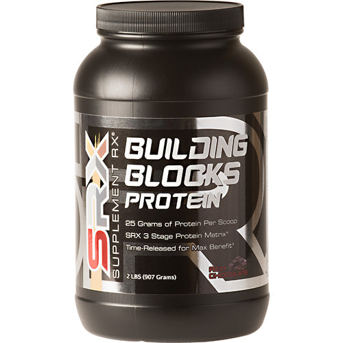 Building Blocks Protein Chocolate 2 lbs by Supplement RX SupplementMeal Replacement Protein*Control Appetite*Supports Weight Loos*
