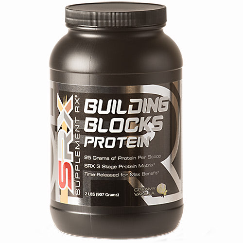 Building Blocks Protein Vanilla 2 lbs by Supplement RX SupplementMeal Replacement Protein*Control Appetite*Supports Weight Loos*