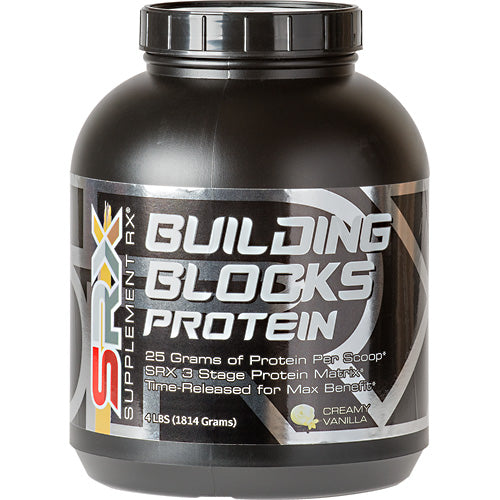 Building Blocks Protein Vanilla 4 lbs by Supplement RX SupplementMeal Replacement Protein*Control Appetite*Supports Weight Loos*
