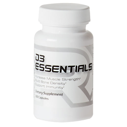 D3 Essentials 100 Caps by Supplement RX Dietary SupplementBuild Bone Density*Increase Muscle Strength*Support Immunity*
