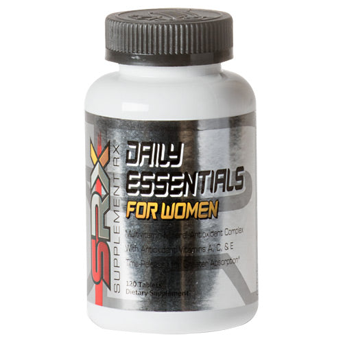Daily Essentials fo Women 120 Tabs by Supplement RX Dietary Supplement
