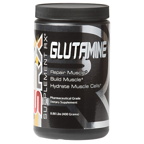 Glutamine 0.88 lbs by Supplement RX Dietary SupplementBuild Muscle*Pharmaceutical GradeHydrate Muscle Cells*Repair Muscle*