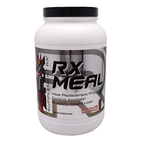 RX Meal Chocolate 2.8 lbs by Supplement RX Dietary SupplementMeal Replacement Protein*Control Appetite*Supports Weight Loss*