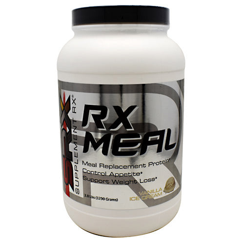 RX Meal Vanilla 2.8 lbs by Supplement RX Dietary SupplementMeal Replacement Protein*Control Appetite*Supports Weight Loss*