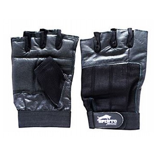 Men's Workout Gloves Black, Medium 1 Pair by Spinto USA LLC Spinto fitness, Men's Workout Glove w/ Wrist Wraps. Fully Adjustable wrist wrap provides maximum support and flexibility, Improves grip and increases stability, Comfort layered fabric maintains shape after use and washing, No-Sweat lining helps keep hands dry.