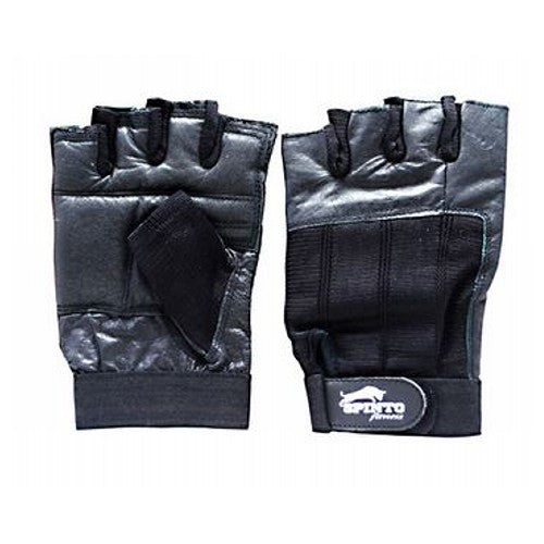 Men's Workout Gloves Black, Large 1 Pair by Spinto USA LLC Spinto fitness, Men's Workout Glove w/ Wrist Wraps. Fully Adjustable wrist wrap provides maximum support and flexibility, Improves grip and increases stability, Comfort layered fabric maintains shape after use and washing, No-Sweat lining helps keep hands dry.