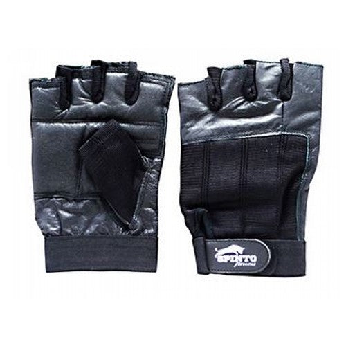 Men's Workout Gloves Black, Extra Large 1 Pair by Spinto USA LLC Spinto fitness, Men's Workout Glove w/ Wrist Wraps. Fully Adjustable wrist wrap provides maximum support and flexibility, Improves grip and increases stability, Comfort layered fabric maintains shape after use and washing, No-Sweat lining helps keep hands dry.