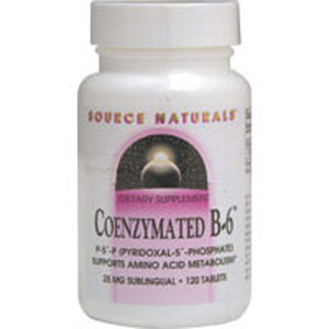 Coenzymated B-6 Sublingual 60 Tabs