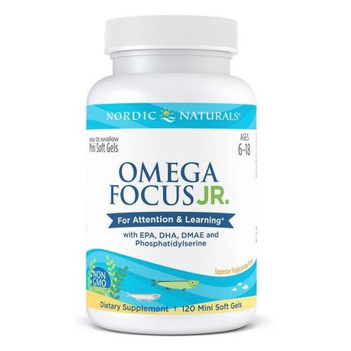 Omega Focus Junior 120 Count by Nordic Naturals