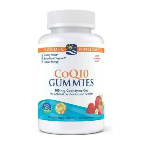 CoQ10 Gummies 60 Count by Nordic Naturals