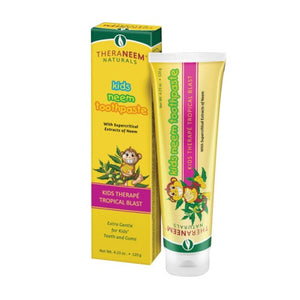 Kids Neem Toothpaste Tropical Blast - Paste Tropical, 4.23 oz