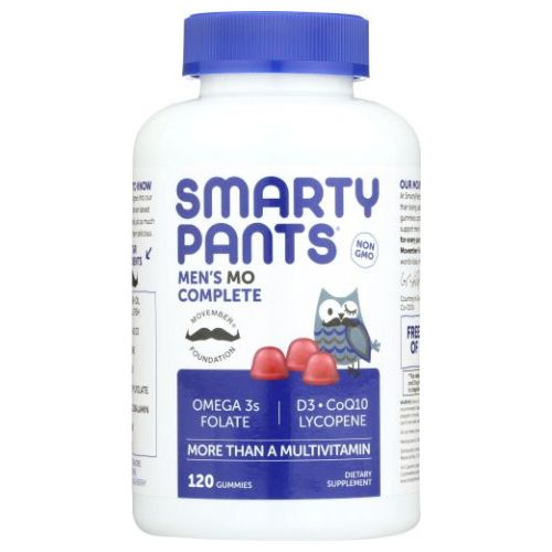 Gummy Vitamins Men's Complete Vitamins 120 Count by SmartyPants Gummy Vitamins Gummy Vitamins Men's Complete Vitamins 120 Count by SmartyPants Gummy Vitamins