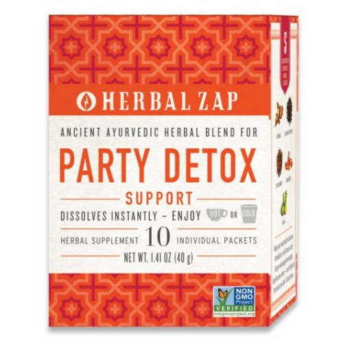 Ayurvedic Party Detox Supplement 10 Count by Herbal Zap Ayurvedic Party Detox Supplement 10 Count by Herbal Zap