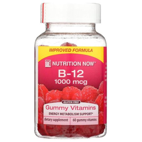 Vitamin B-12 Gummy Chew 60 Count by Nutrition Now Vitamin B-12 Gummy Chew 60 Count by Nutrition Now