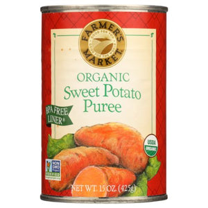 Organic Sweet Potato Puree