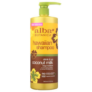 Hawaiian Shampoo Drink It Up Coconut 32 Oz by Alba Botanica