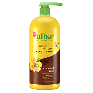 Hawaiian Conditioner Drink It Up Coconut 32 Oz by Alba Botanica