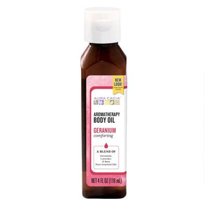 Bath/Massage Oil - Comforting Geranium