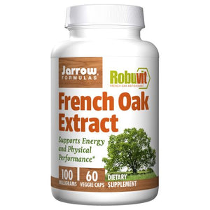 French Oak Extract 60 Veg Caps by Jarrow Formulas