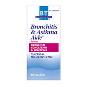 Broncial & Breathing Aide 100 Tabs by Boericke & Tafel