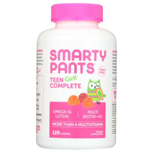 Teen Girl Complete Gummy Vitamins 120 Count by SmartyPants Gummy Vitamins Teen Girl Complete Gummy Vitamins 120 Count by SmartyPants Gummy Vitamins