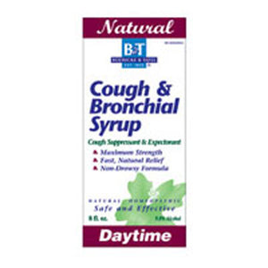 Cough & Bronchial Syrup 8 FL Oz by Boericke & Tafel