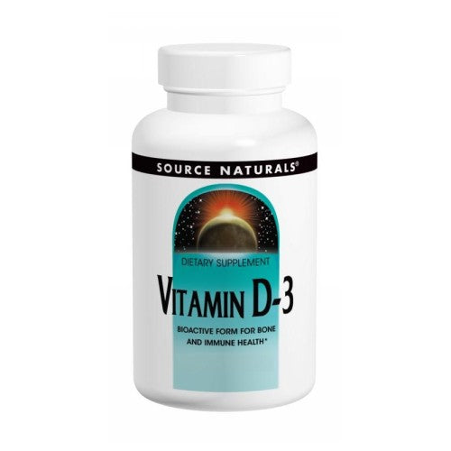 Vitamin D-3 240 Softgels by Source Naturals Vitamin D-3 240 Softgels by Source Naturals