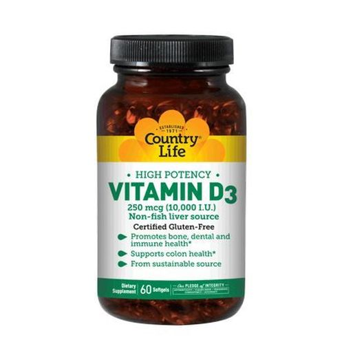Vitamin D3 60 Tabs by Country Life Vitamin D3 60 Tabs by Country Life