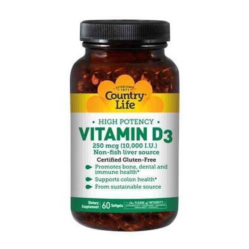 Vitamin D3 200 Softgels by Country Life Vitamin D3 200 Softgels by Country Life
