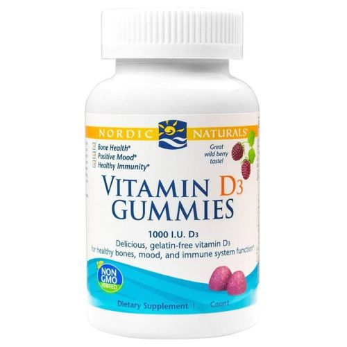 Vitamin D3 Gummies Travel Size 20 Count by Nordic Naturals