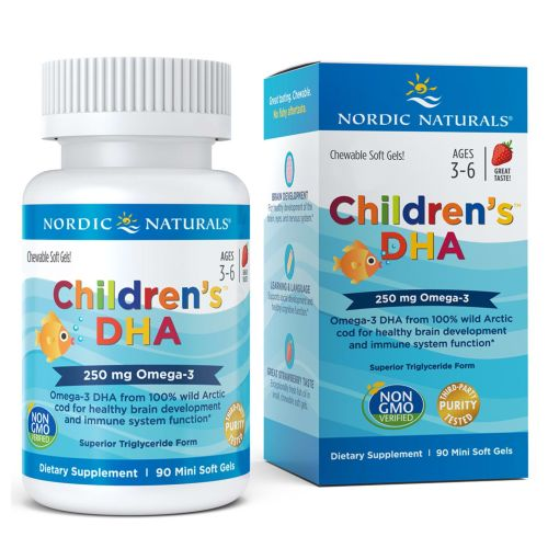 Children's DHA Strawberry 90 softgels by Nordic Naturals