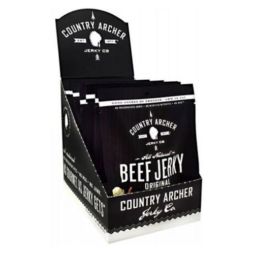 Beef Jerky Original 12 Count by Country Archer